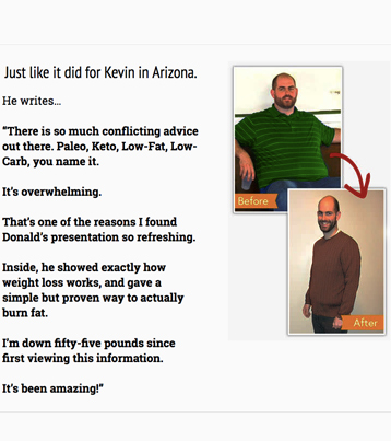 """""""There is so much conflicting advice out there. Paleo, Keto, Low-Fat, Low-Carb, you name it."""