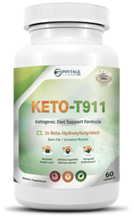 Keto t-911 bottle